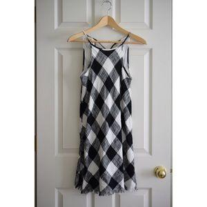 Cloth + Stone Checkered Sundress